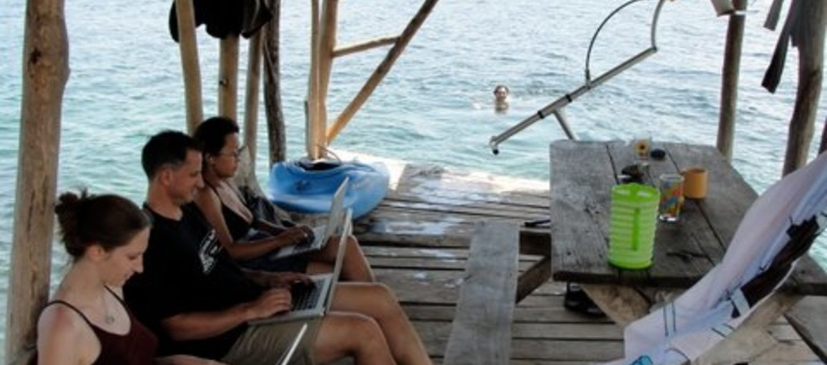 Coworking holiday: Coworking Spaces on Small Islands