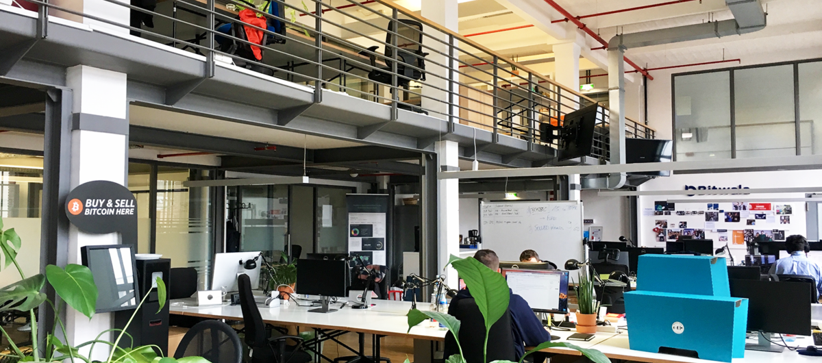 Transistor, a coworking space in Berlin, mainly hosting Bitcoin companies