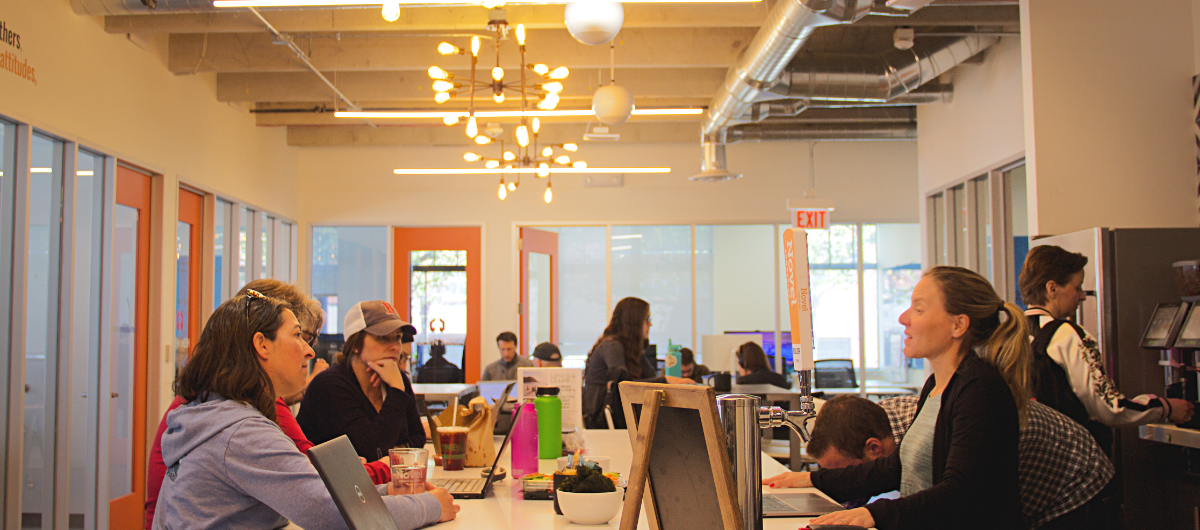 Novel, a coworking space in Boulder