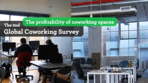 The second Global Coworking Survey shows that 72% of all coworking spaces become profitable after more than two years in operation. These images are from Inspire9 in Melbourne, which this year expanded to a bigger location.